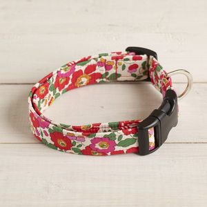 Poppy Liberty Dog Collar - pet collars