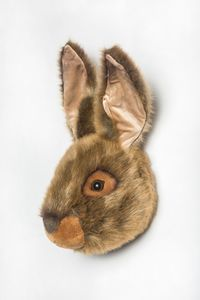 Hare Decorative Animal Head - children's room