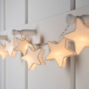 Star Paper Lantern Fairy Lights - fairy lights & string lights