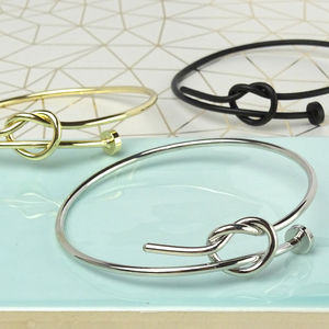 Knitting Needle Bracelet - women's jewellery