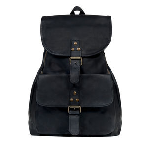 Personalised Leather Explorer Backpack/Rucksack