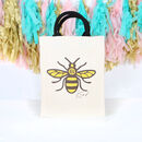 Bee Kind Canvas Bag With Rope Handles