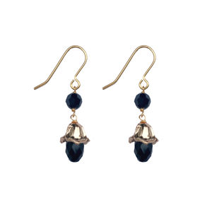 Single Crystal Droplet Earrings