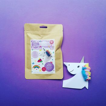 Unicorn Bookmark Mini Make Craft Kit