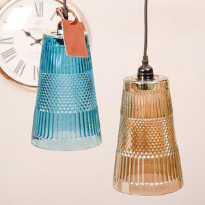 Smoked Retro Pendant Ceiling Light Selection - ceiling lights