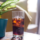 Rum And Coke Personalised Etched Glass