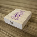 Premium Wooden Tea Box Nine Compartment