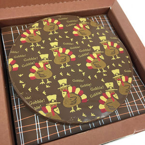 Chocolate Thanksgiving Gift With Personalised Message