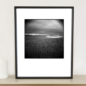 Crop Field, Suffolk Photographic Art Print