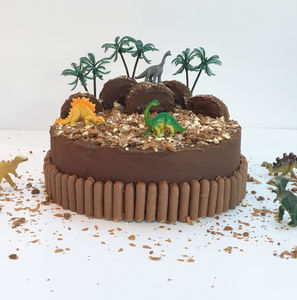 Dinosaur Land Birthday Cake Kit