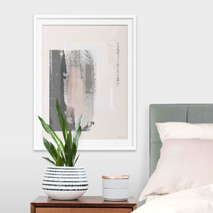 U0027Way Outu0027 Minimal Abstract Painted Art Print   Update Your Walls. U0027