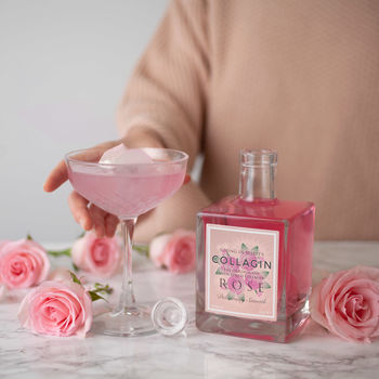 Rose Infused Pink Gin With Added Collagen