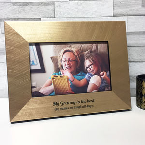 Personalised Mother's Day Grandmother Photo Frame