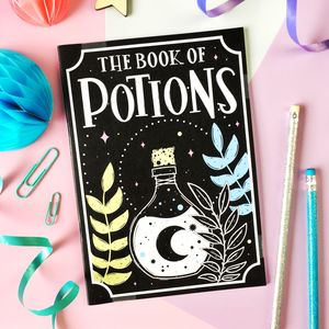 Book Of Potions Notebook