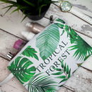 Tropical Summer Vibes Travel Toiletry Bag