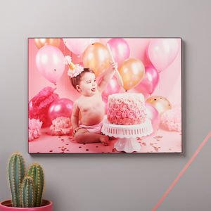Personalised Wall Mounted Photo Panel