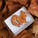 Brooch Squirrel