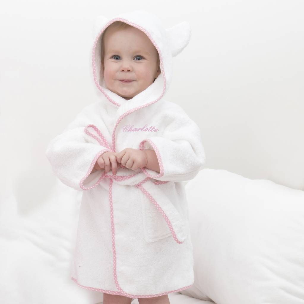 personalised childrens dressing gowns by the fine cotton company ...