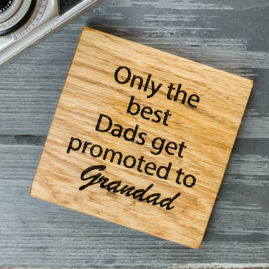 Personalised Grandparent Coaster