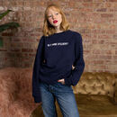 Is It Wine O'clock? Slogan Sweatshirt