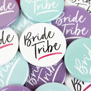 'Bride Tribe' Hen Party Badge