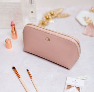 Personalised Bridal Leather Clutch Bag