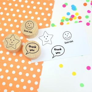Early Years Teacher Rubber Stamp Set - gifts for teachers