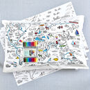 educational creative pillowcase for kids