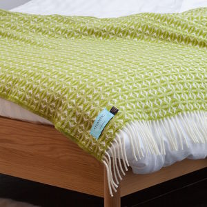 Green Shoal Throw - what's new