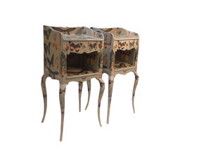 Pair Of Butterfly Bedside Chests