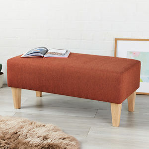 Edinburgh Bench Stool - footstools & pouffes