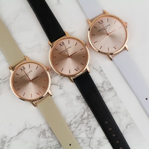 Rose Gold Lifestyle Watch - watches