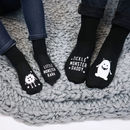 Personalised Family Monster Sock Set