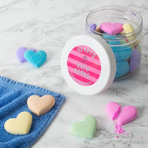 Bath Bomb Hearts - little gestures of love