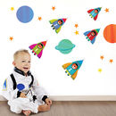 Childrens Space Wall Sticker Pack
