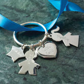Personalised Person Keyring - express gifts
