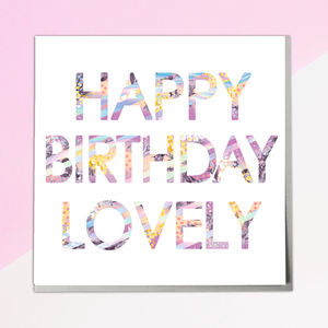Happy Birthday Card - new in