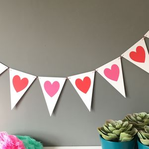 Heart Bunting - bunting & garlands