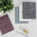 Recycled Paisley A5 Lined Notebook