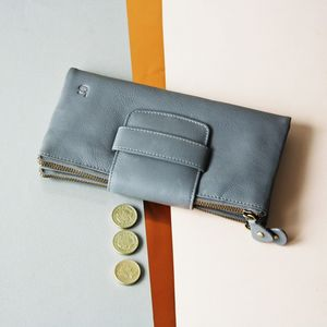 Personalised Luxury Wallet And Clutch In One - bags & purses