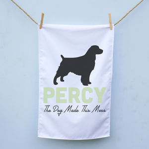 Personalised Dog Tea Towel - what's new