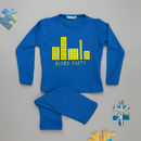 Block Party Personalised Kids Pyjamas
