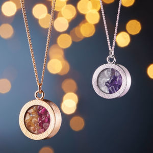 Personalised Mixed Birthstone Locket - jewellery
