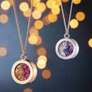 Personalised Mixed Birthstone Locket