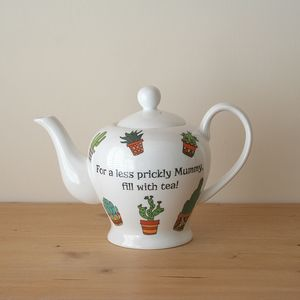 Personalised Cactus Teapot - dining room