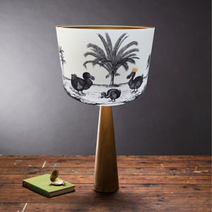 Dodo Lampshade - bedroom