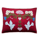 Alpine Doves Cushion