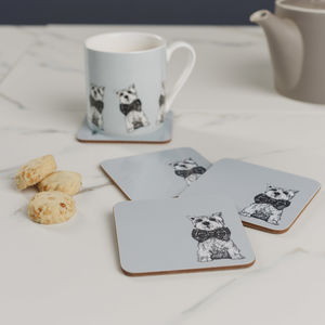 Meet Archie Set Of Four Coasters - whatsnew