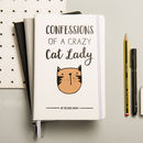 Personalised Crazy Cat Lady Notebook