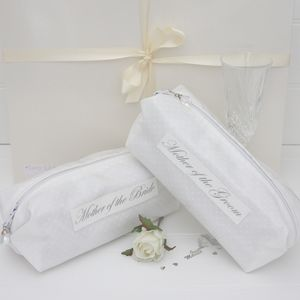 Wedding Personalised Make Up Bag